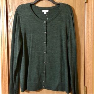 Women's Button-Up Cardigan, NWT, XXL
